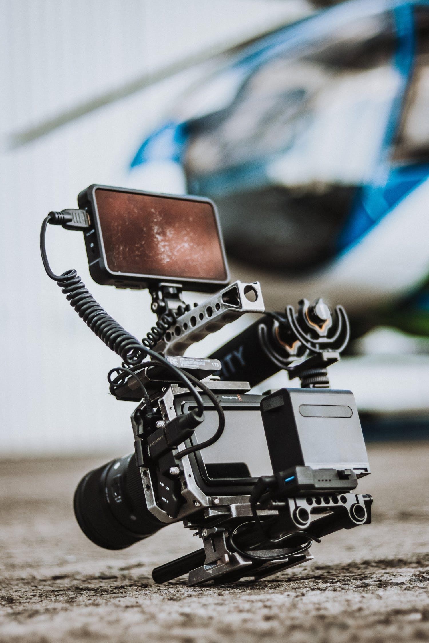 Blackmagic design camera for filmmakers and creators