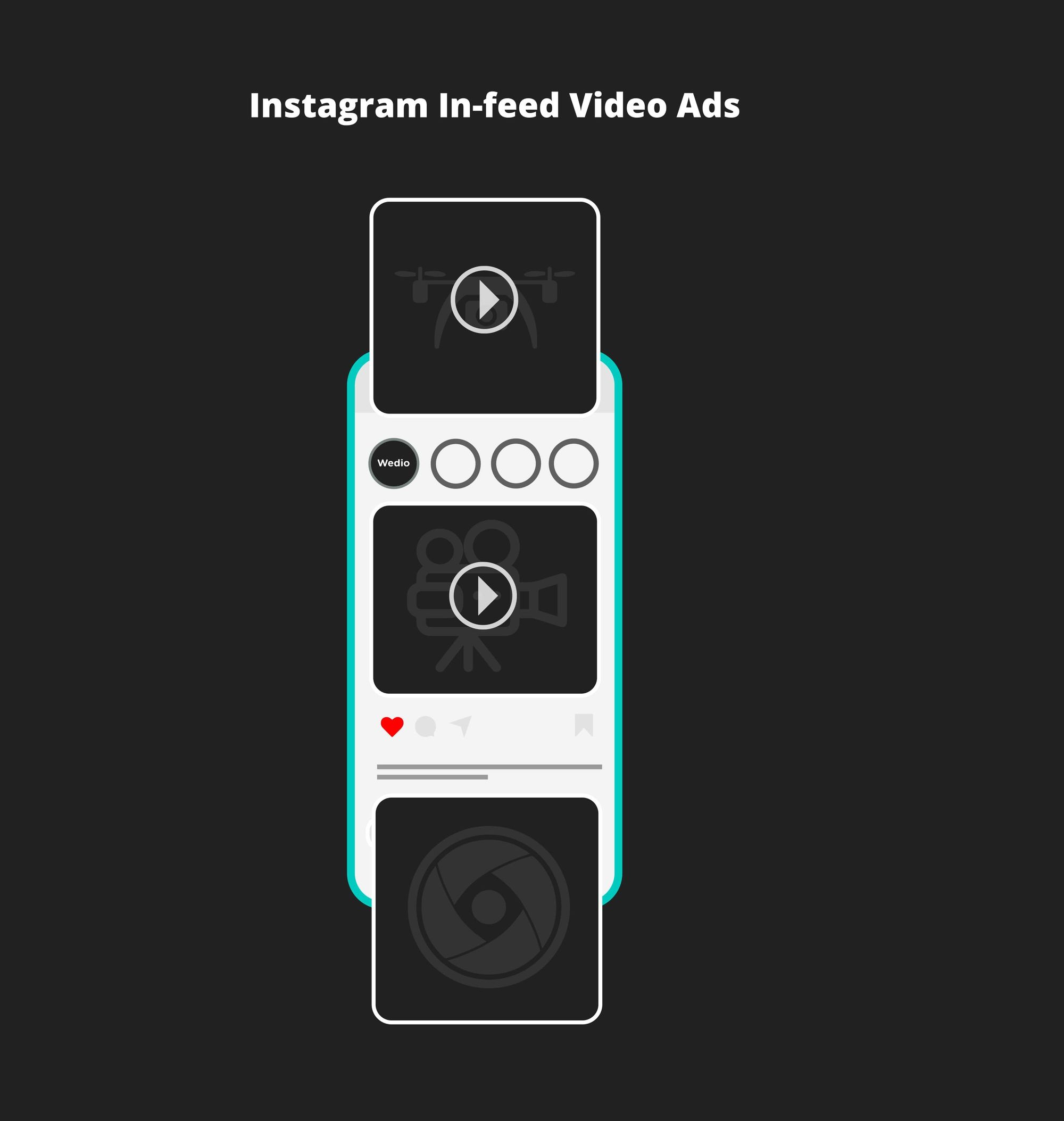 what is instagram in-feed video ads