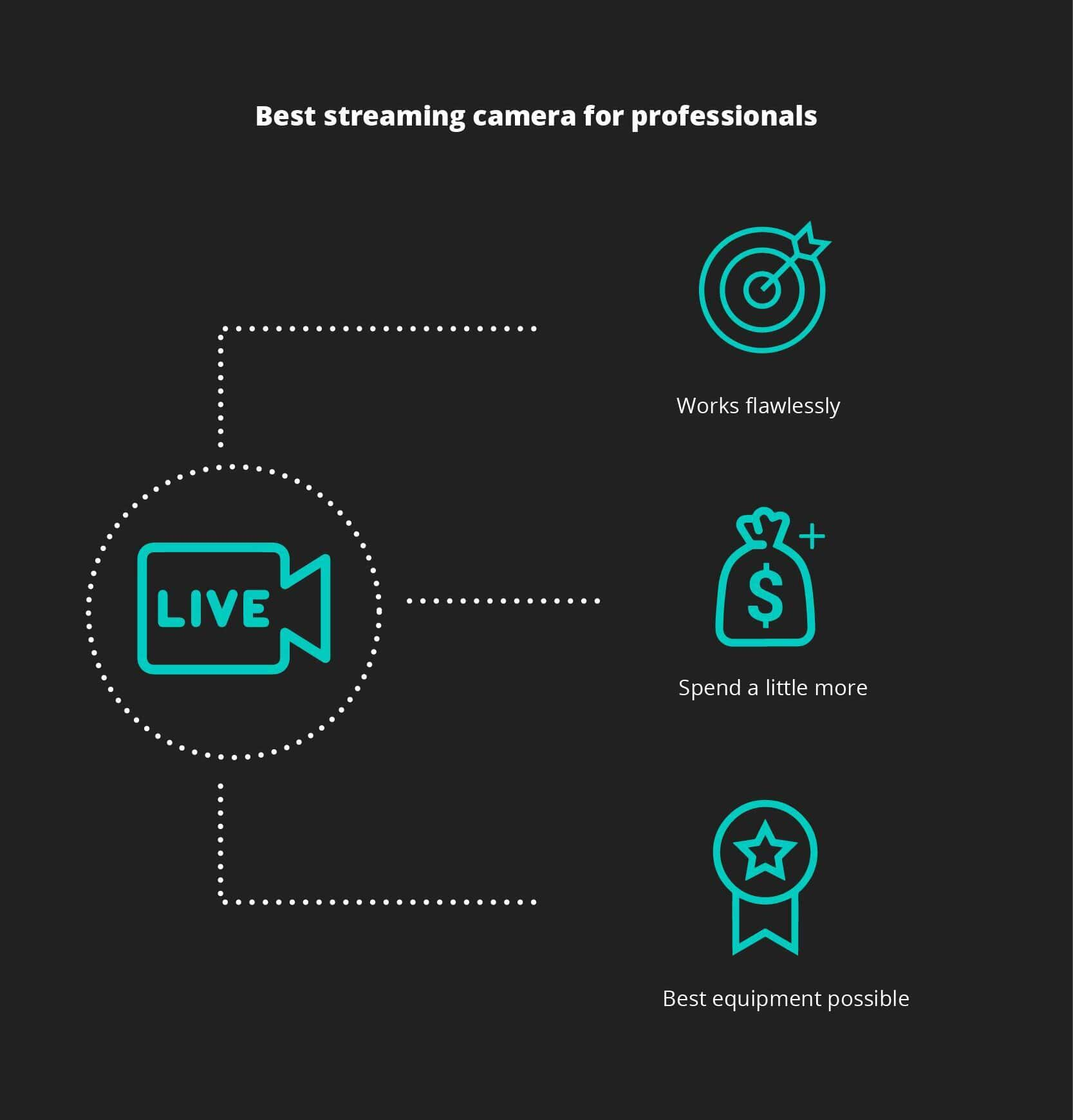 Best streaming camera for professionals