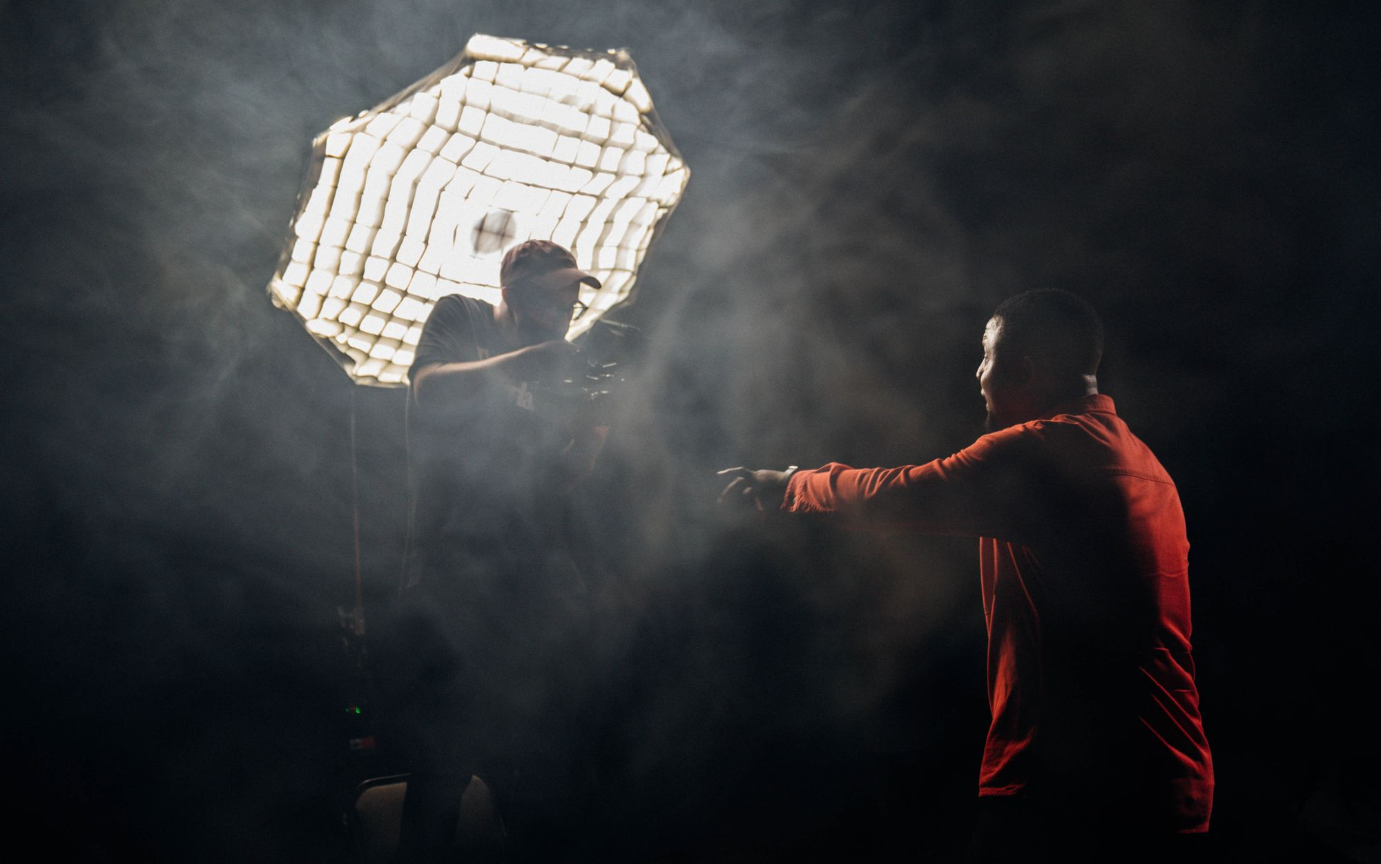 Lighting for music video