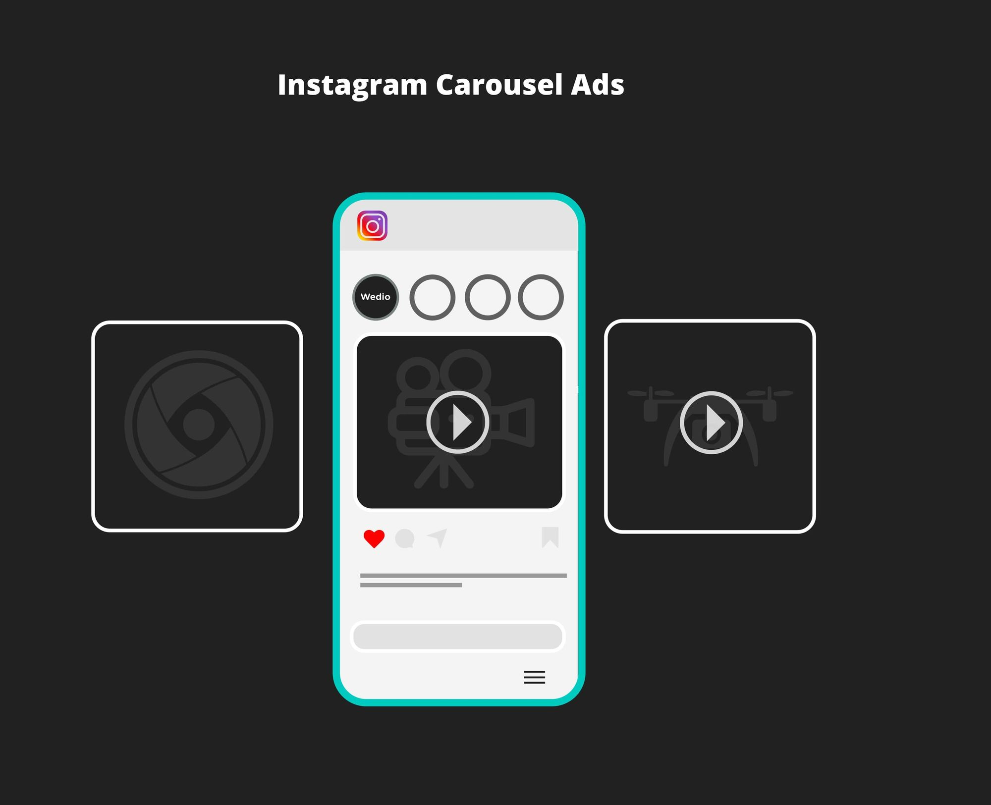 what is instagram carousel ads