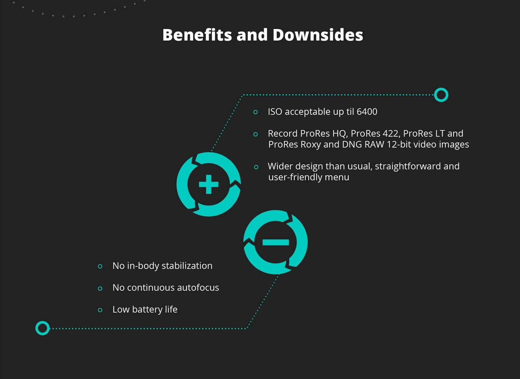 summary, benefits and downsides with the Blackmagic Pocket Cinema Camera 4K
