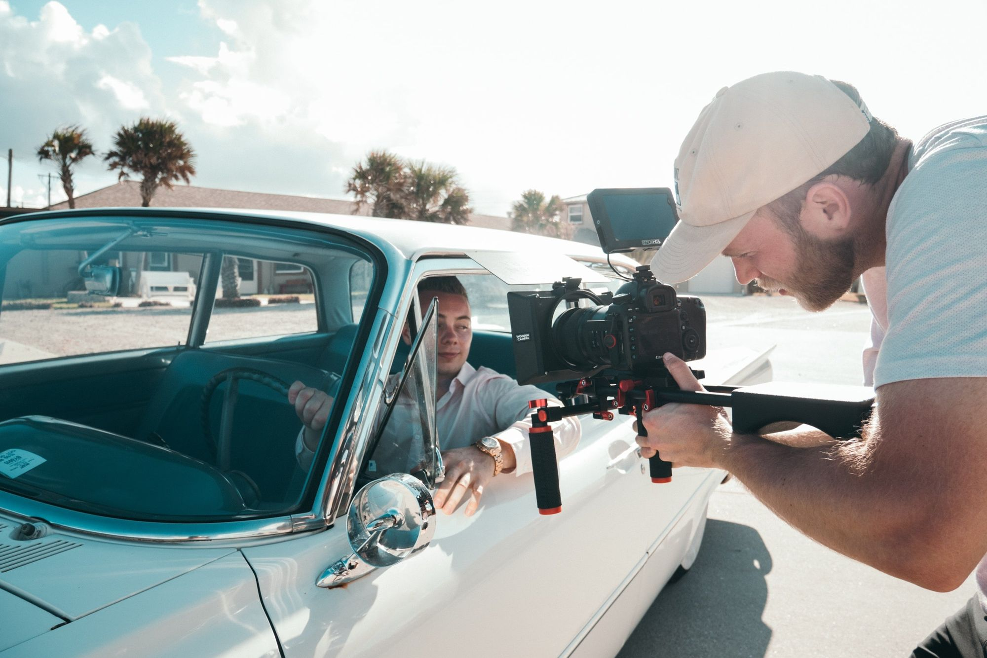 Get started as a cinematographer
