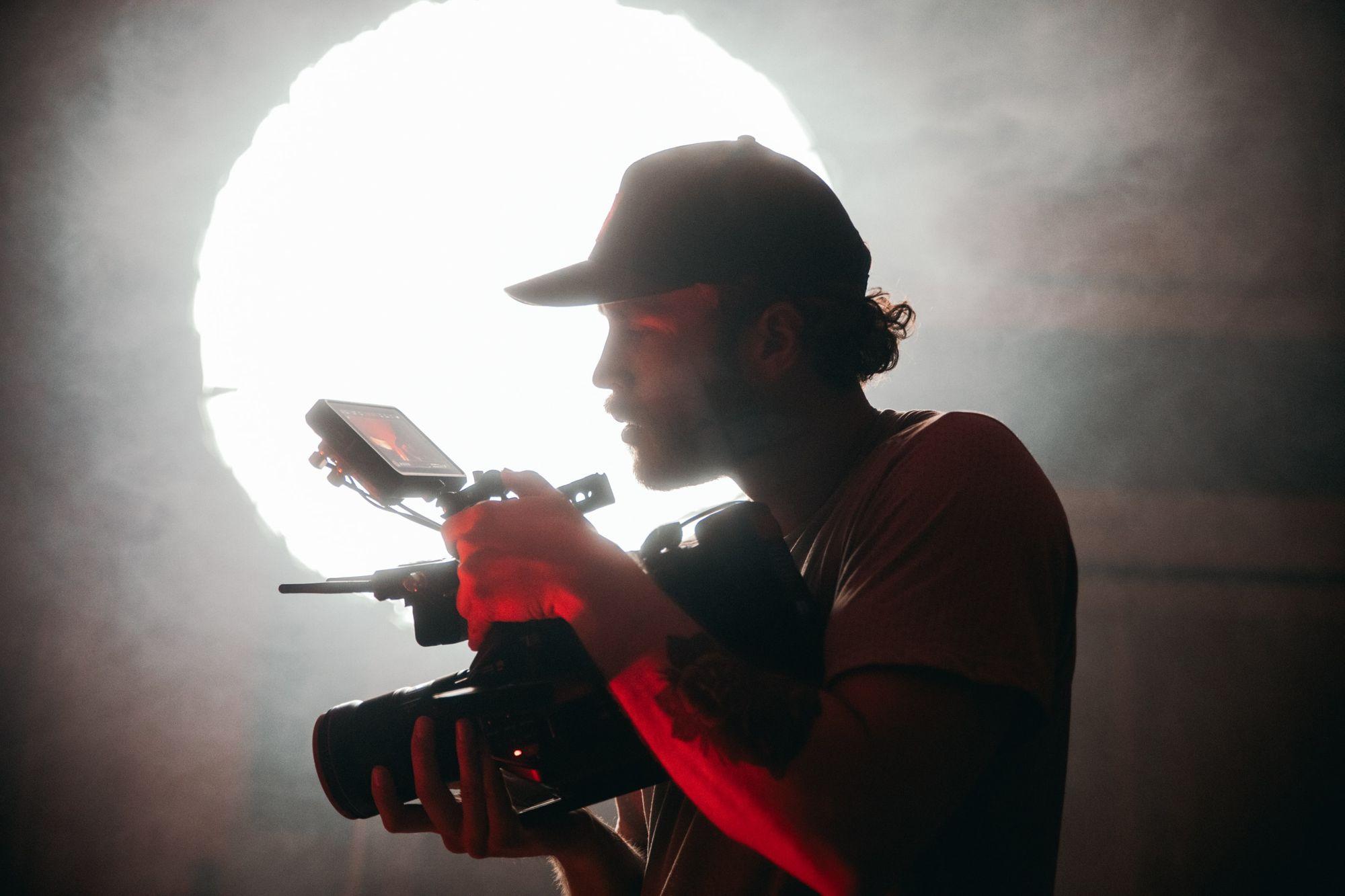 Hard cinematic lighting - good for film noirs