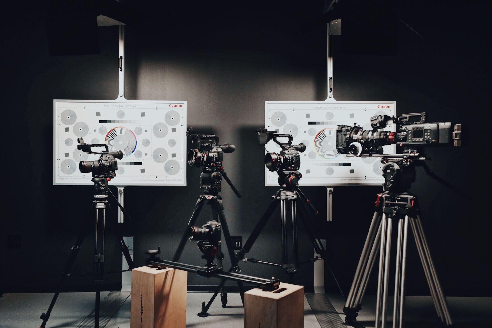 camera equipment for achieving camera angles
