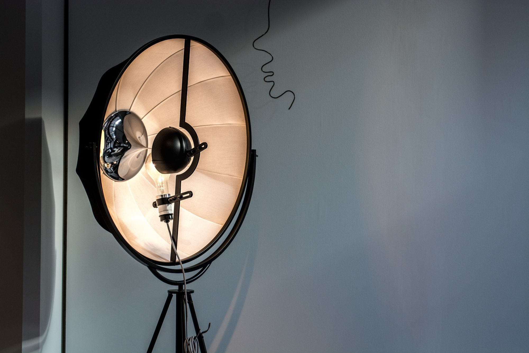 Different lighting equipment for cinematography