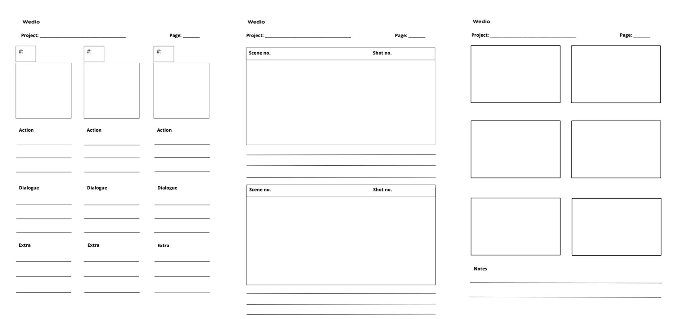 Storyboard Template Preview