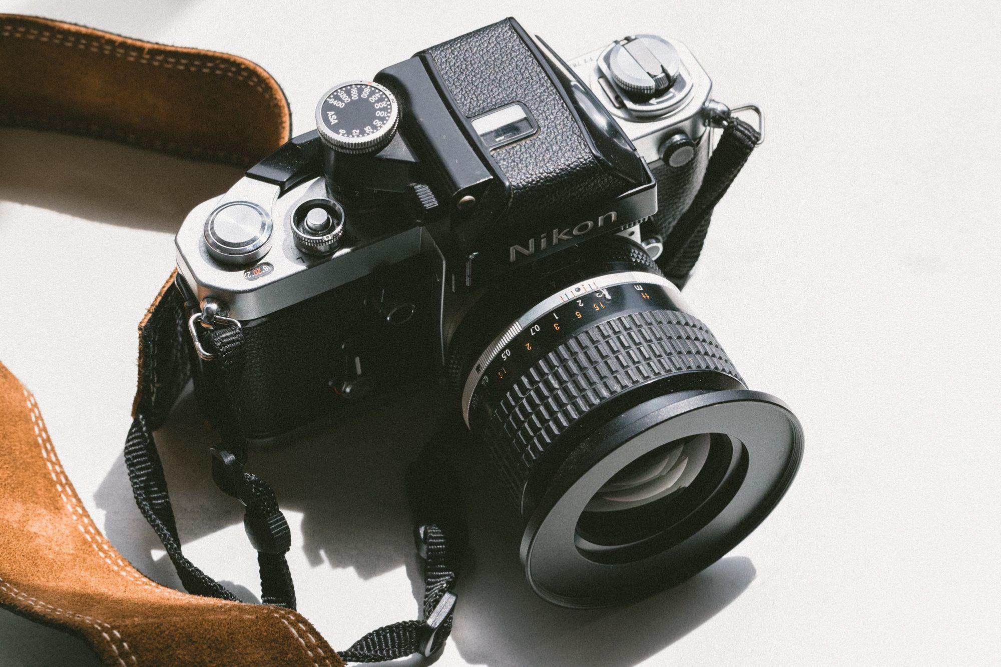 The Nikon F3 is a classic fashion photography camera