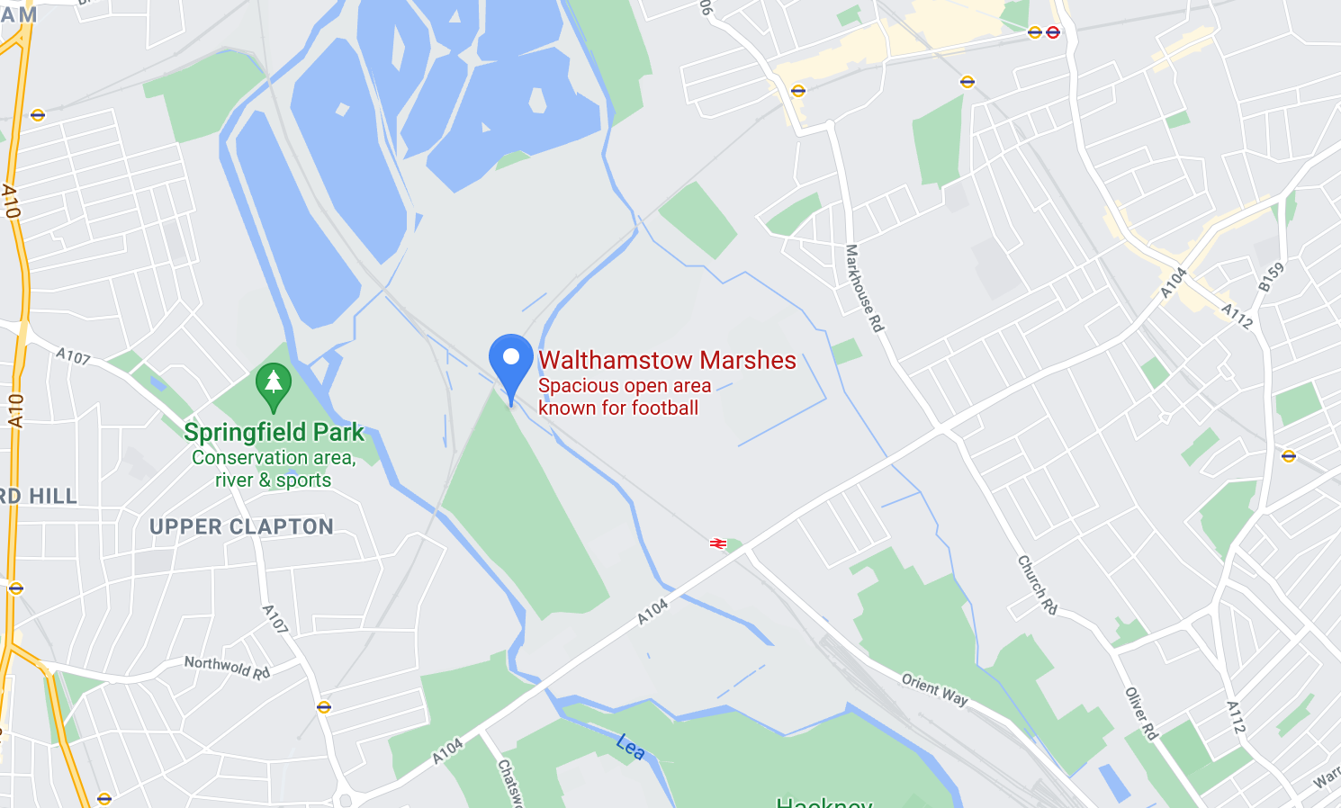Find the best photo location in London at Walthamstow Marshes