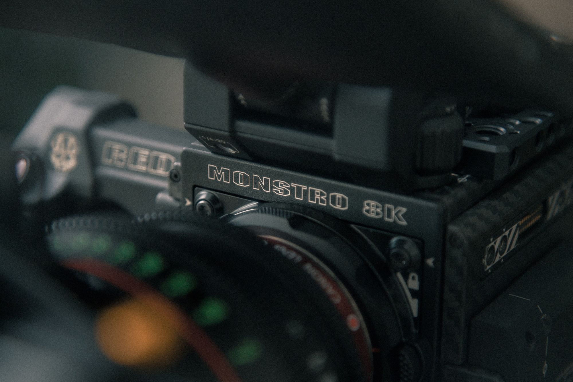 High dynamic rang with RED cameras