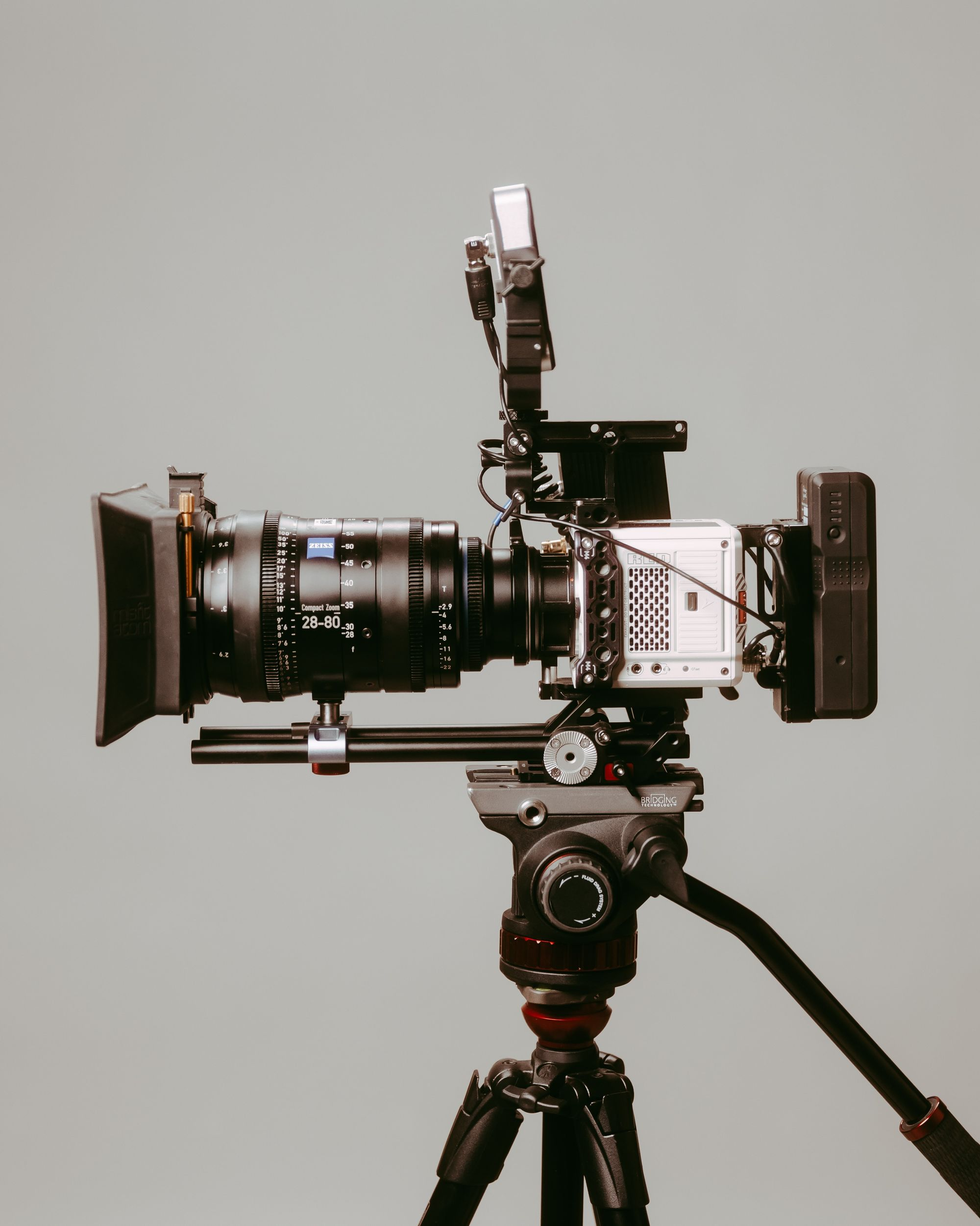 Variable frame rates with a RED camera