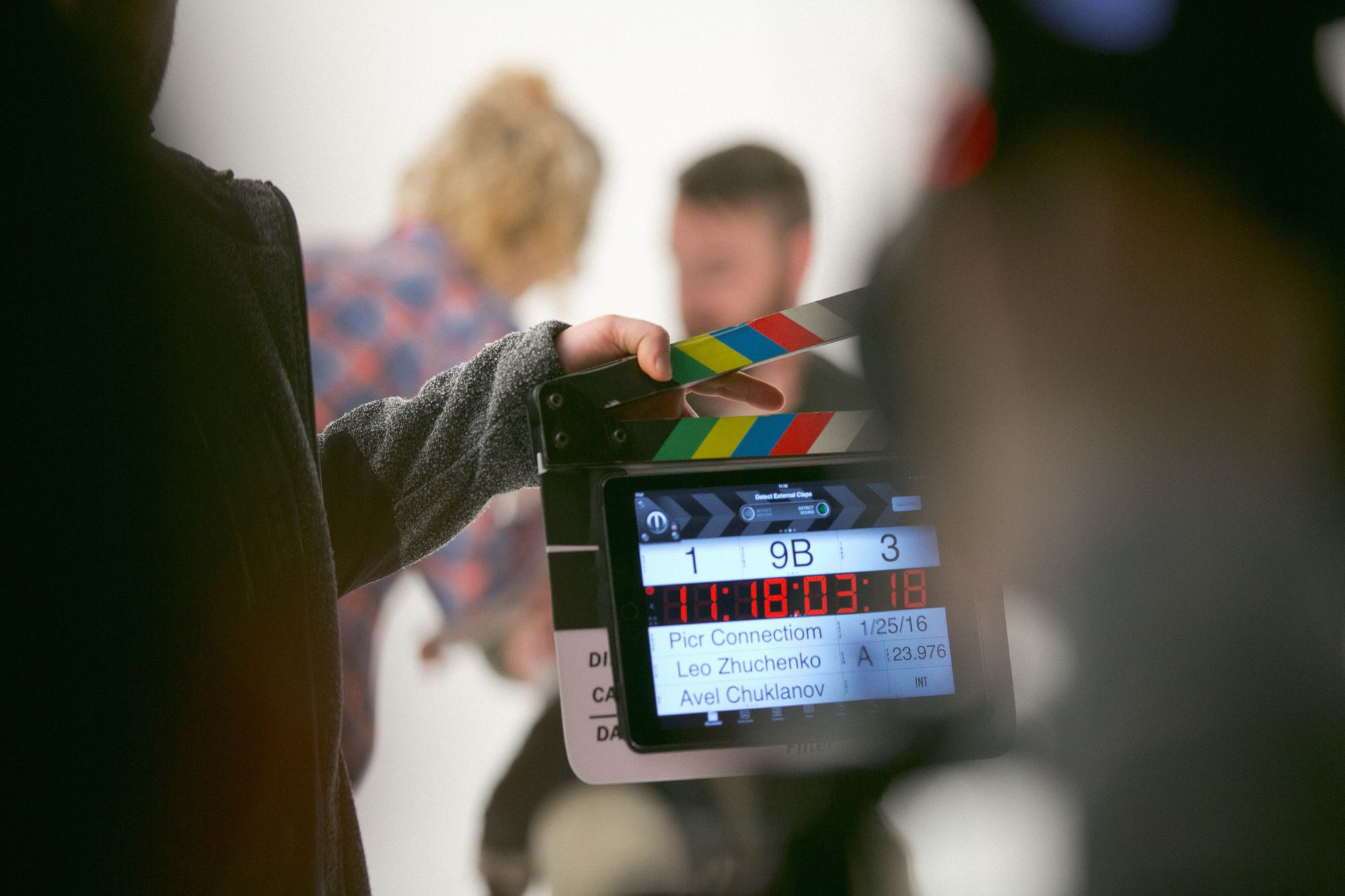 The production phase is when you start shooting