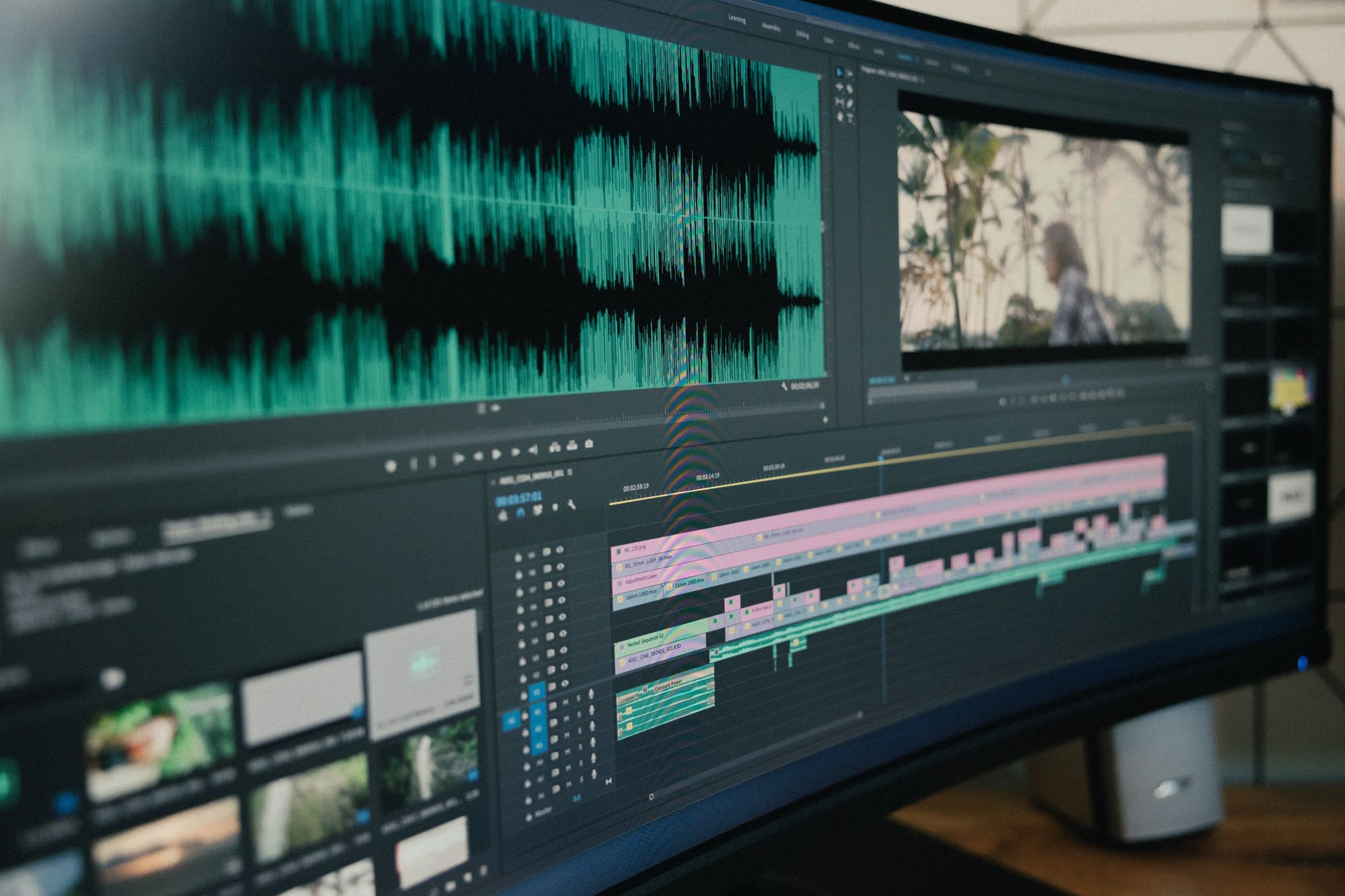 The post-production phase is where all the editing happens