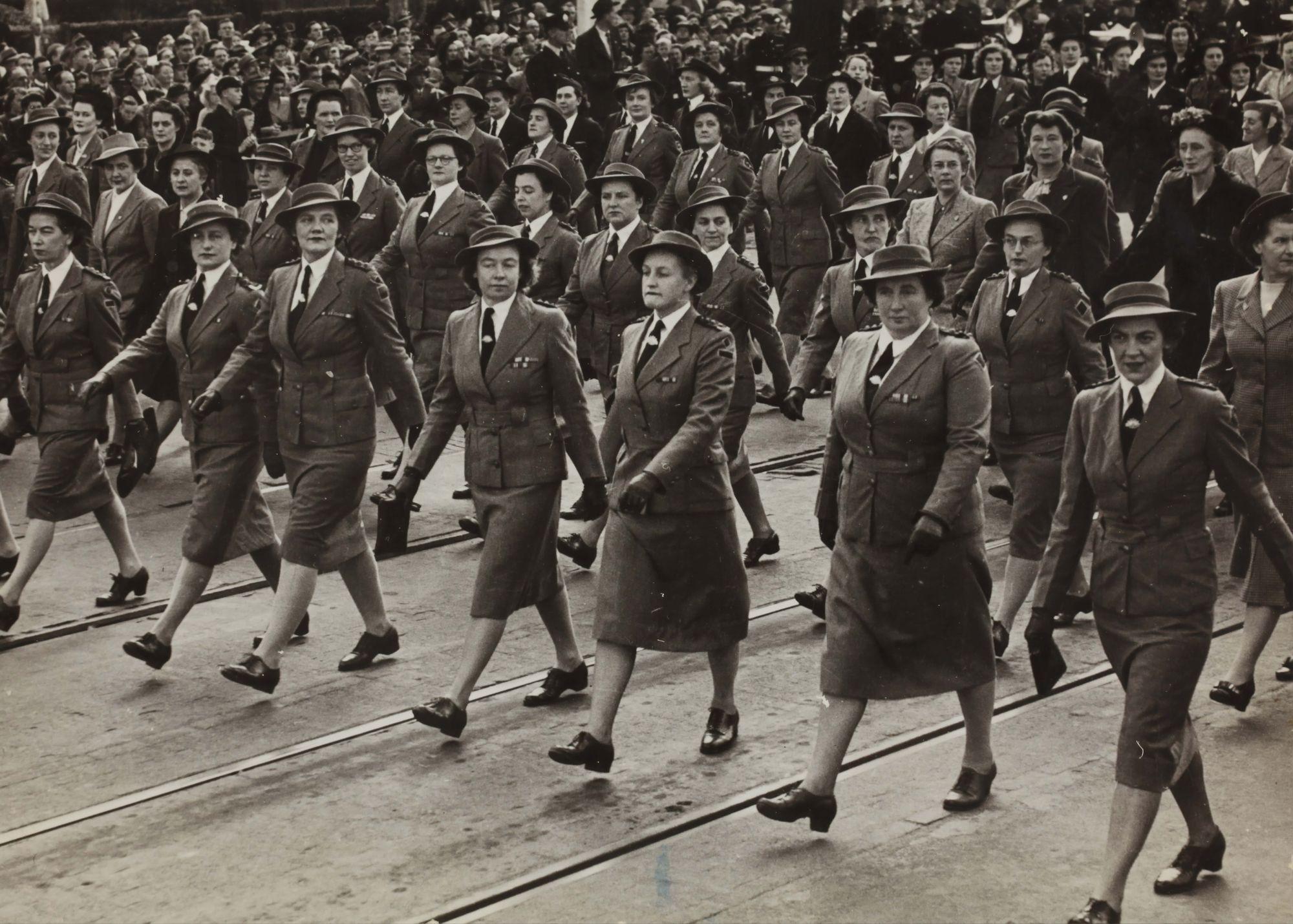 Propaganda filled a lot in war photography during world war 2