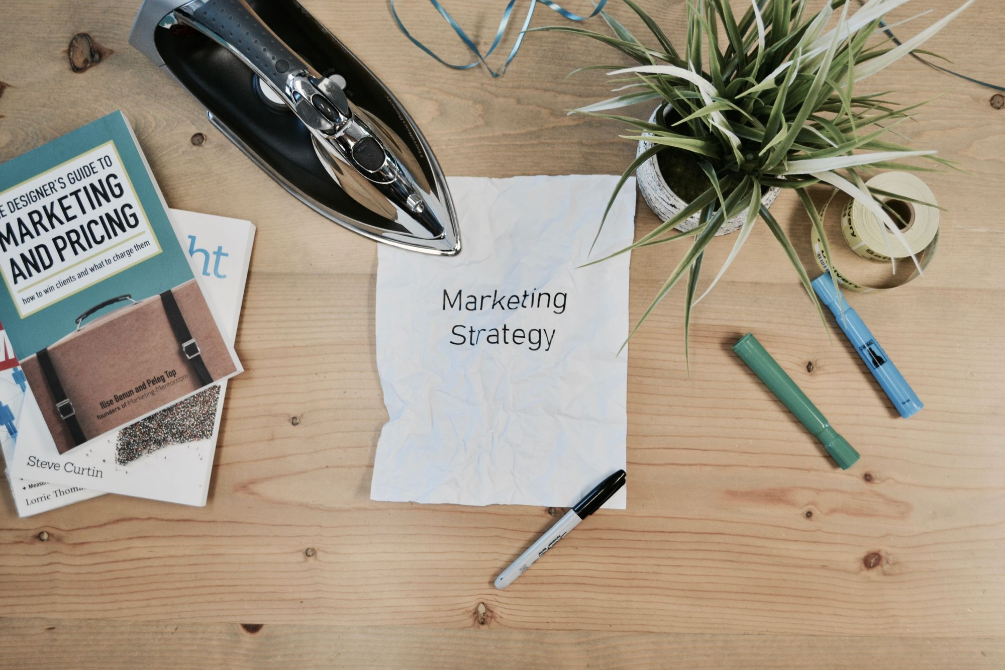 marketing-strategy-with-marketing-book