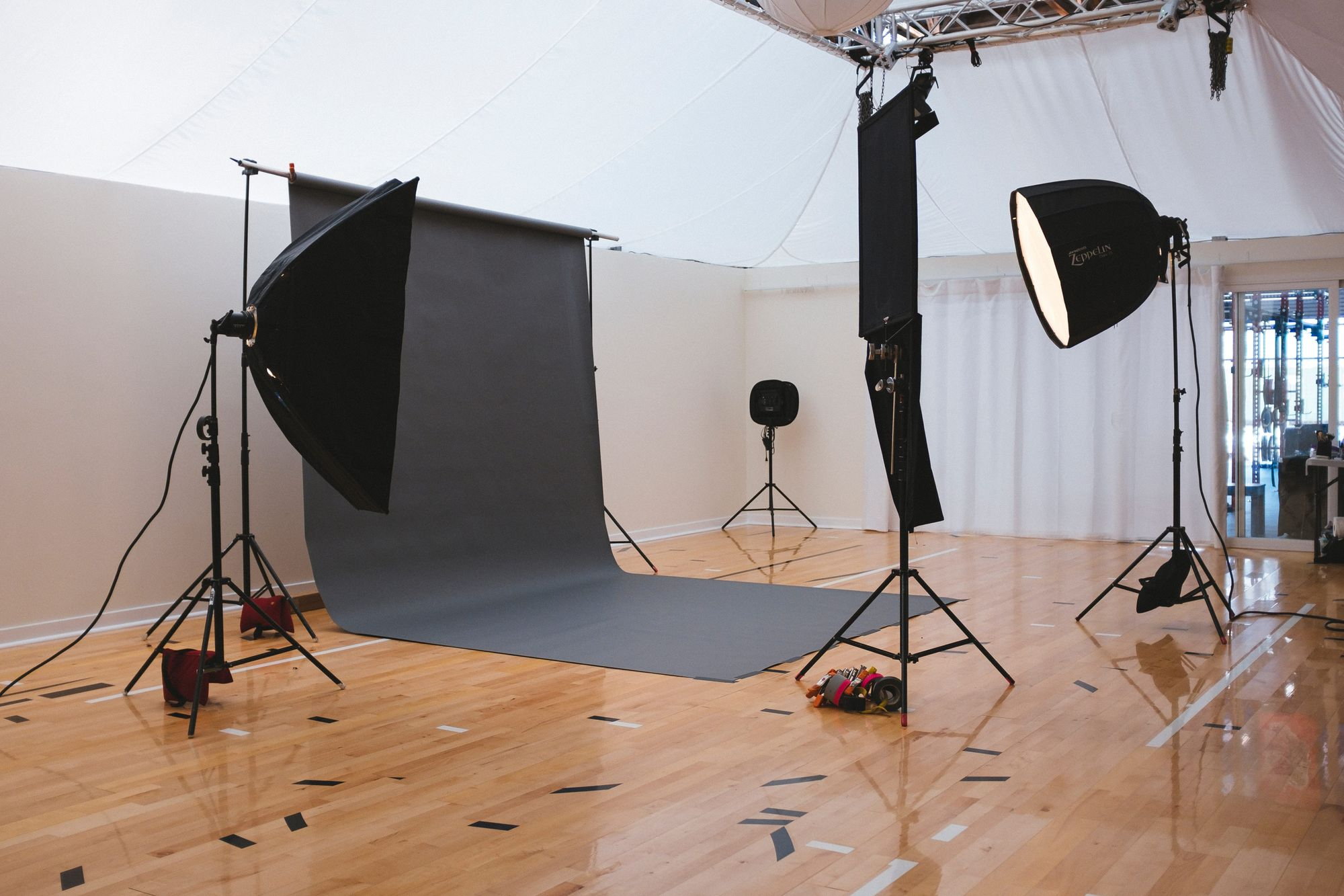 There's many ways to be creative with three-point lighting