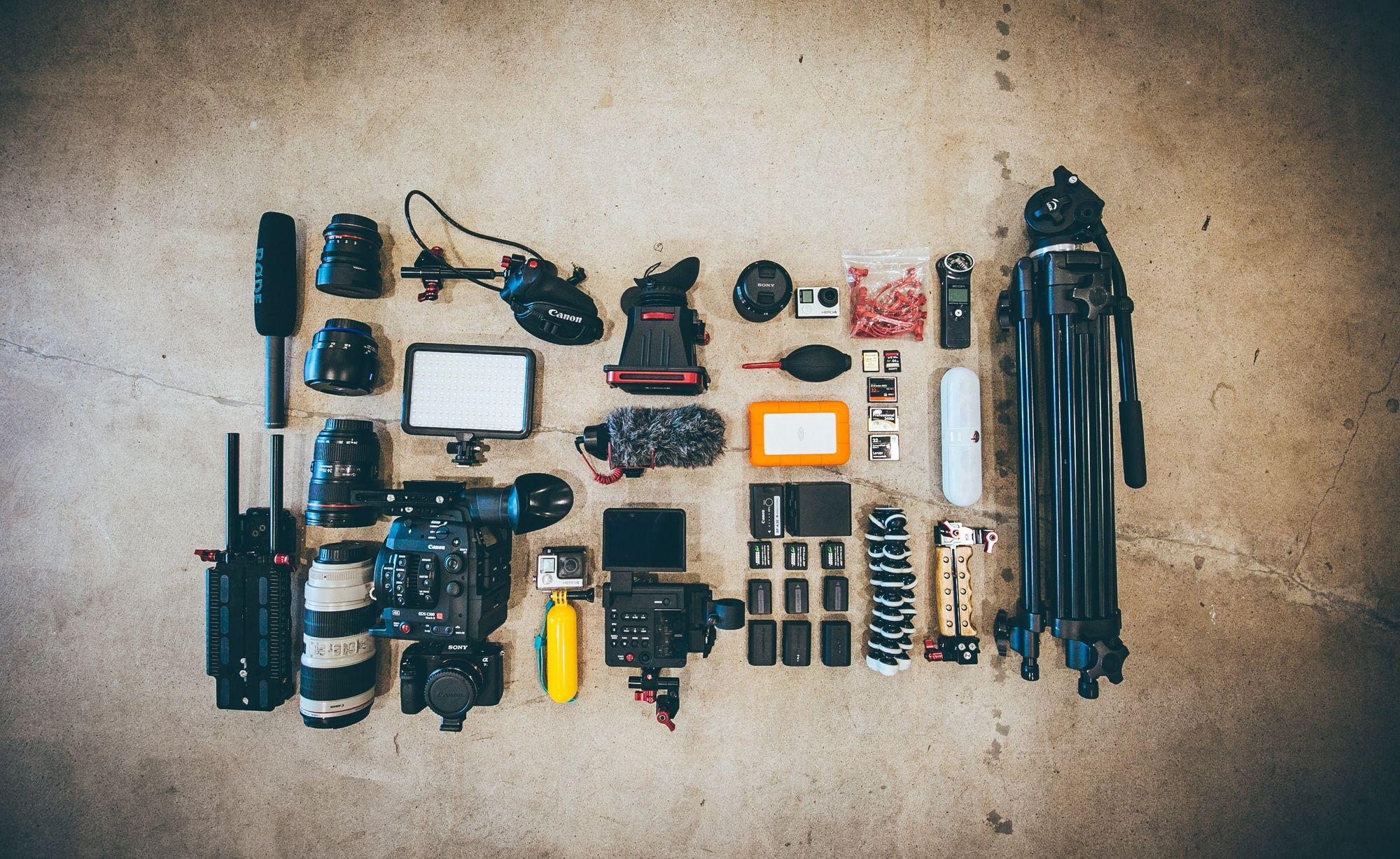 Other good to have camera equipment