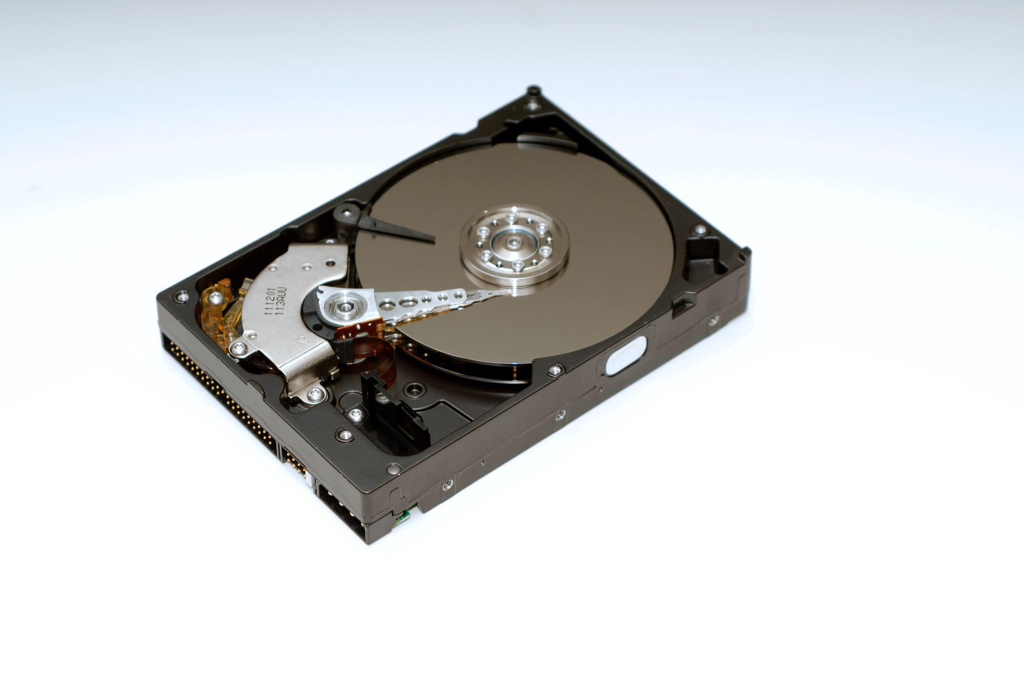 Get an external hard drive for your photos