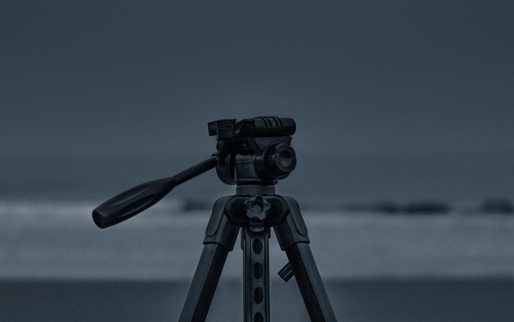 A tripod is an essential camera gear