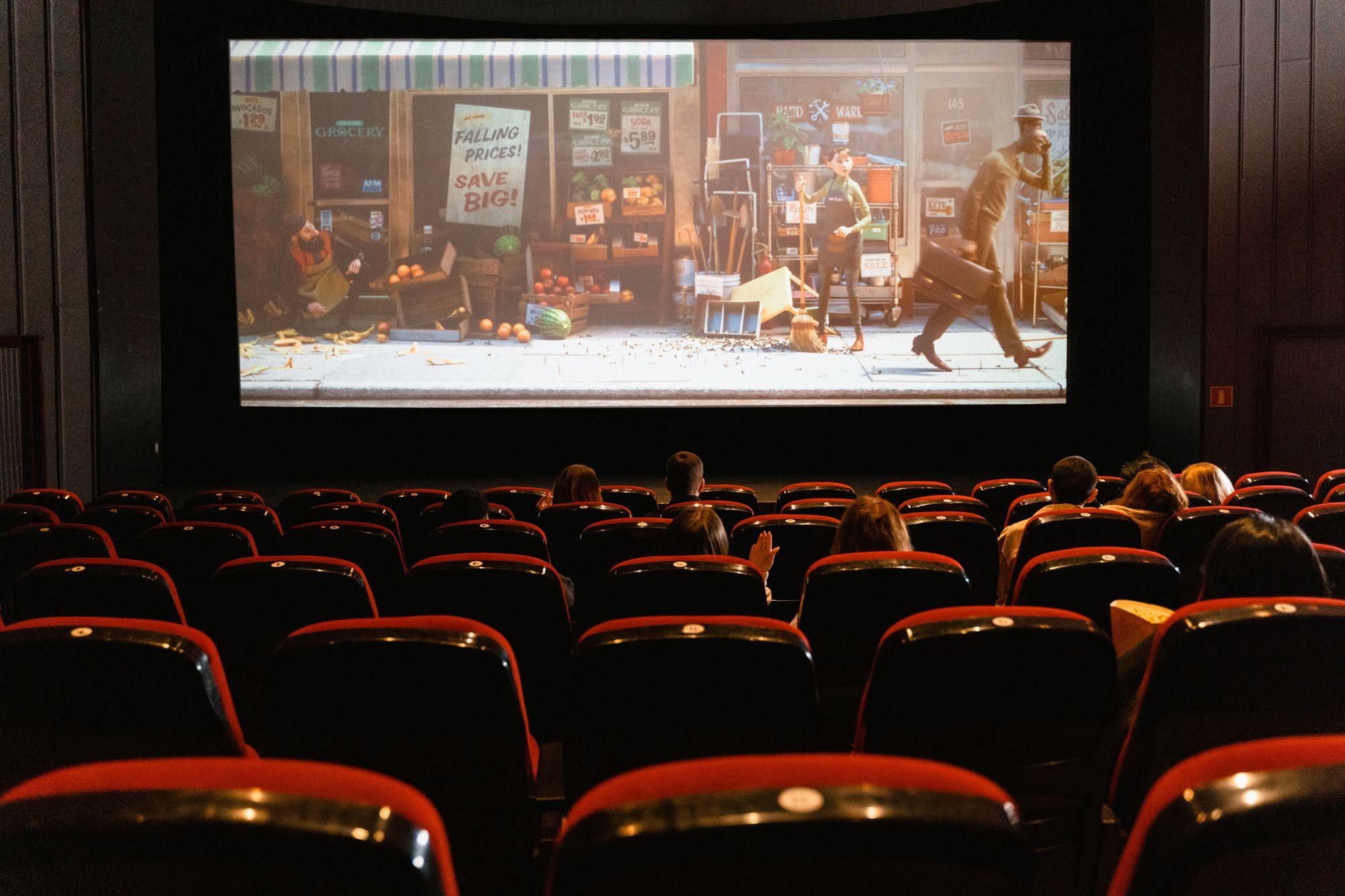 Chiaroscuro's break into cinema