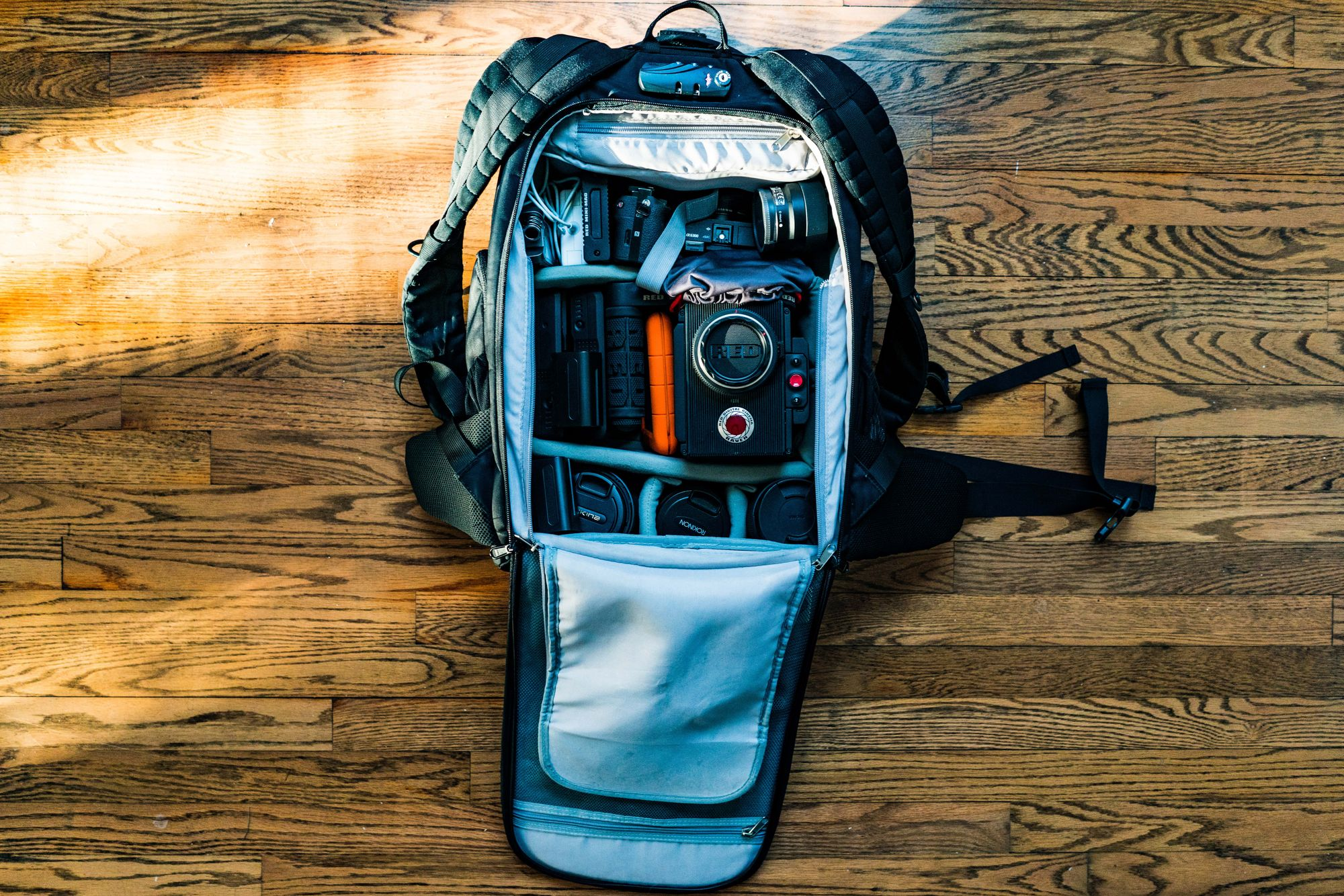 Having a camera bag is crucial for any photographer