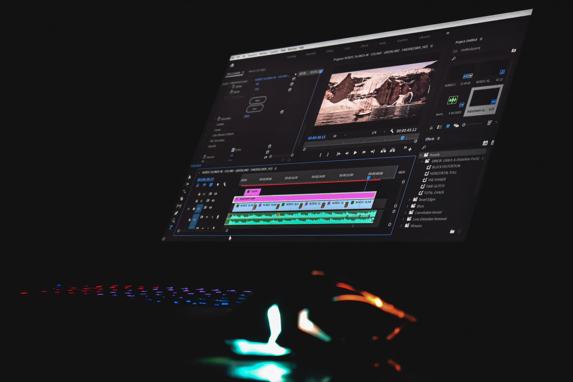 Figure out a post-processing software that works for you
