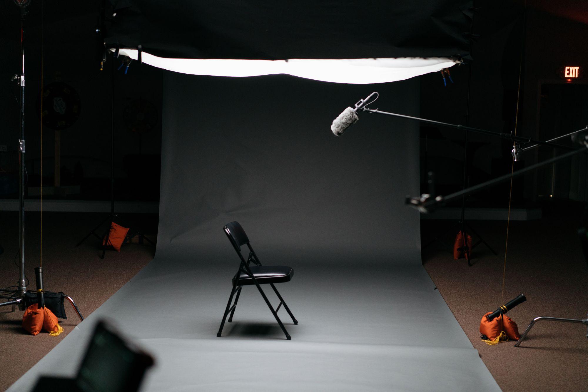 empty interview location