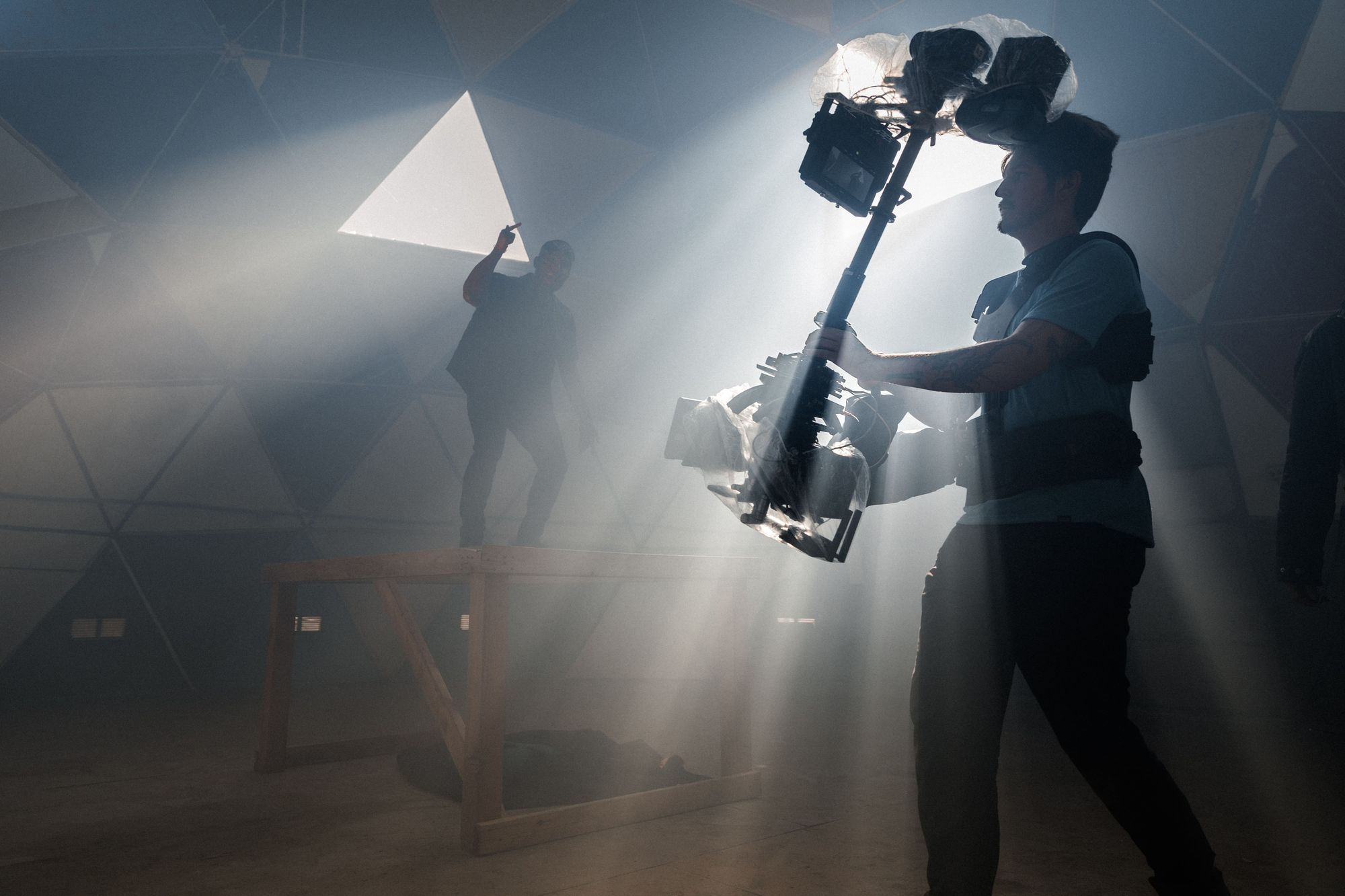 Heave gear used for music video production