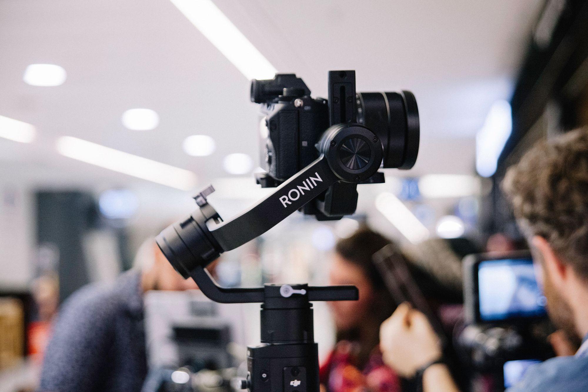 gimbal for shooting cinematic interviews